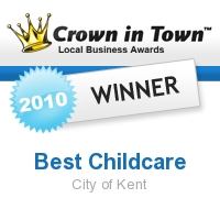 Voted Best Daycare in Kent